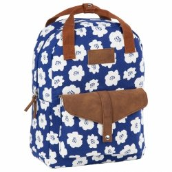 Plecak BackUP 2w1 torebka w maki,  BLUE POPPY (PLB2CA27)