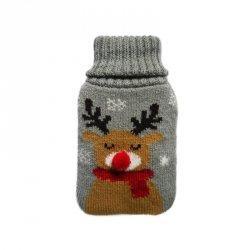 Ogrzewacz do rąk w pokrowcu sweterkowym RENIFER INCOOD. (0059-0063)