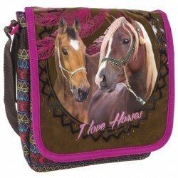 Torebka na ramię I LOVE HORSES Konie (TRAKO16)