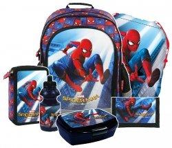 ZESTAW 6 el. Plecak szkolny SPIDER-MAN HOMECOMING (PL15BSH10)