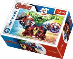 TREFL Puzzle mini 54 el. AVENGERS Drużyna (19613)
