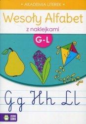 Wesoły alfabet z naklejkami G-L (35736)