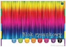 Blok rysunkowy A3 kolorowy kolorowe kartki (60037)
