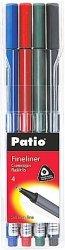Cienkopisy pisaki TRIO 4 kolory PATIO (18524PTR)