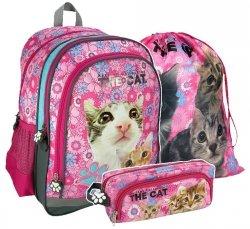 Zestaw szkolny 3 cz. The Cat (PL15TK13SET)