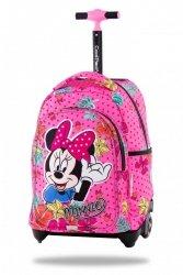 ZESTAW 3 el. Plecak CoolPack JACK na kółkach Myszka Minnie, MINNIE MOUSE TROPICAL (B53301SET3CZ)