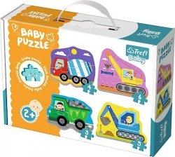 TREFL Puzzle BABY Pojazdy na budowie (36072)