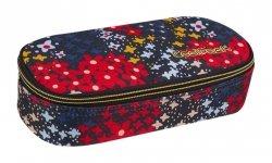 Piórnik CoolPack CAMPUS kolorowe kwiatki na granatowym tle, SUMMER MEADOW (85844CP)