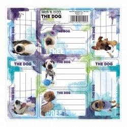 Nalepki na zeszyty THE DOG (NNZTD)