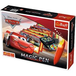 TREFL Gra planszowa Magic Pen, CARS Auta (01604)