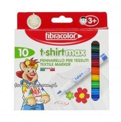 Pisaki T-Shirt do tkanin Fibracolor 10 szt