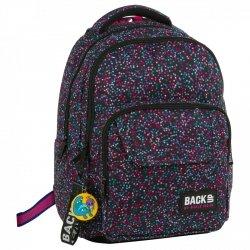 Plecak szkolny młodzieżowy BackUP w kolorowe kwadraciki, CONFETTI (PLB2L01)