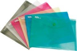 Teczka koperta transparentna na dokumenty A5 PATIO  biała (PAT3139A/N/13)