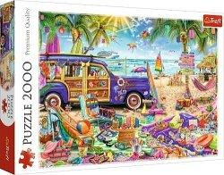 TREFL Puzzle 2000 el. Tropikalne wakacje (27109)