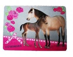 Podkładka laminowana I LOVE HORSES Konie (PLAKO01)