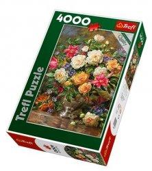 TREFL Puzzle 4000 el. Kwiaty dla Królowej Elżbiety (45003)