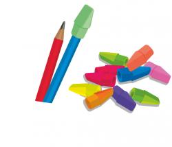 Gumka do mazania na ołówek 10 sztuk COLORINO KIDS (66129PTR)