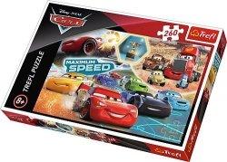 TREFL Puzzle 260 el. CARS Auta, Gala zwycięzców (13239)