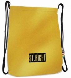 Plecak Worek na sznurkach złoty, GOLD ST.RIGHT SO11 (19885)