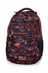 Plecak CoolPack COLLEGE TECH w pomarańczowe wzory, ORANGO (B36098)