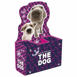 Biurkowy pojemnik na przybory szkolneTHE DOG PSY (PPSTD05)
