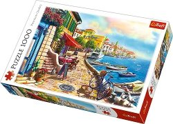 TREFL Puzzle 1000 el. Słoneczny bulwar (10527)