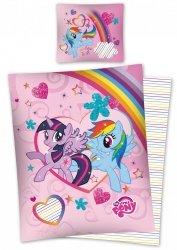 Komplet pościeli pościel My Little Pony Kucyki 160 x 200 cm (MLP25DC)