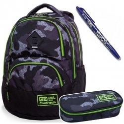 Plecak szkolny 27L Coolpack DART MORO YELLOW + Piórnik + Frixion (B30065SET)