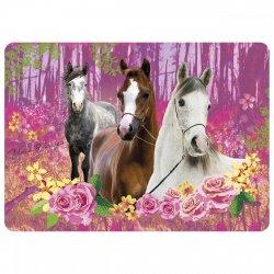 Podkładka laminowana I LOVE HORSES Konie (PLAKO05)