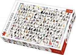 TREFL Puzzle 1000 el. 208 Kotów (10498)