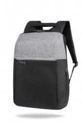 Plecak męski na laptopa 13-15,6 z USB Fort Gray R-Bag (Z052)