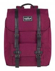 Plecak CoolPack TRAFFIC czerwony, BURGUNDY (84177CP)