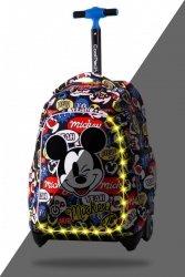 Plecak CoolPack JACK LED na kółkach Myszka Mickey, MICKEY MOUSE (B52300)