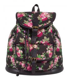 Plecak miejski młodzieżowy COOLPACK FIESTA w róże, ROSES 1026 (72335)