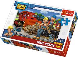 TREFL Puzzle 60 el. BOB BUDOWNICZY (17300)