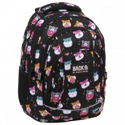 Plecak szkolny młodzieżowy BackUP 26 L CHOMIKI (PLB3A37)