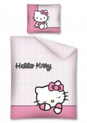 Komplet pościeli pościel Hello Kitty 140 x 200 cm (HK10DC)