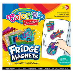 Magnesy na lodówkę COLORINO CREATIVE wzór MUSIC (36957)