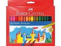 Pisaki FABER CASTELL ZAMEK zmywalne 36 kolorów (FC554236)