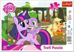 TREFL Puzzle Ramkowe 15 el. W SADZIE (31155)