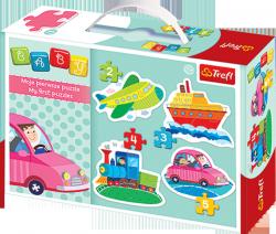 TREFL Puzzle BABY CLASSIC Pojazdy (36057)