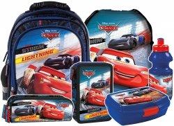Plecak szkolny CARS Auta (PL15BCA44SET6CZ) ZESTAW 6 el.