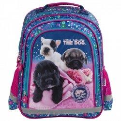 ZESTAW 4 el. Plecak szkolny THE DOG (PL15BTD34SET4CZ)