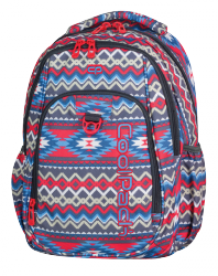 Plecak CoolPack STRIKE w kolorowe wzory, BOHO BEIGE 803 (74889)