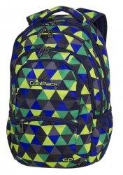 Plecak szkolny młodzieżowy COOLPACK COLLEGE kolorowe trójkąty, PRISM ILLUSION (81785CP)