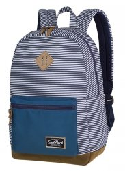 Plecak CoolPack miejski GRASP niebieski w paski, CANVAS STRIPES (84253CP)