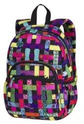 Plecak do zerówki wycieczkowy CoolPack MINI kolorowa przeplatanka, RIBBON GRID (87926CP)