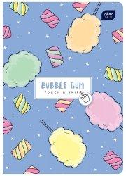 Zeszyt zapachowy A5 60 kartek w kratkę BUBBLE GUM guma balonowa (67122)
