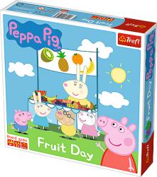 TREFL Gra planszowa Owocowy dzień, Świnka Peppa (01597)