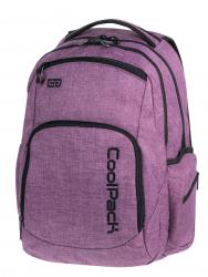 Plecak szkolny młodzieżowy COOLPACK BREAK 2 fioletowy, SNOW PURPLE 850 (76128)